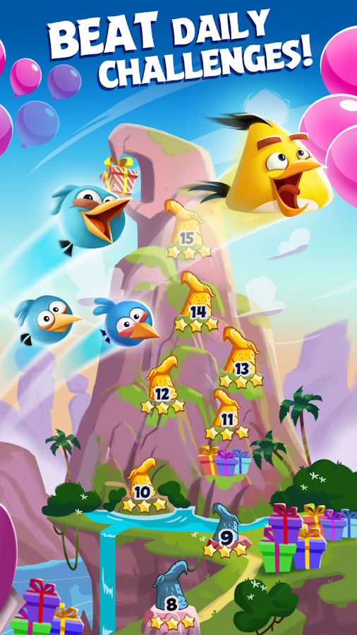 Angry Birds Blast- screenshot