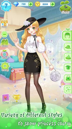ud83dudc57ud83dudc52Garden & Dressup - Flower Princess Fairytale 2.0.5001 screenshots 6