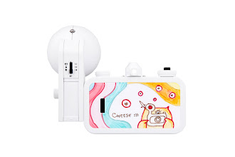 Photo: Itching to create your own camera masterpiece? The La Sardina & Flash DIY Edition is just what you need! Write on it, draw, paint or glue something on it—this wide-angle wonder will let your imagination run free! Get it on Lomography.com - http://lmgr.ph/PhbOsU