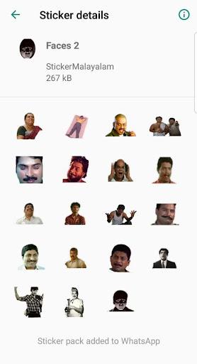 Sticker Malayalam 2.5 screenshots 5