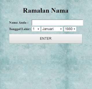 Ramalan nama lahir apps on google play screenshot image reheart Gallery