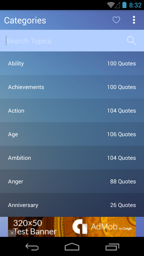 Quotable Quotes- screenshot