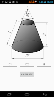 how to make a flat pattern for a cone