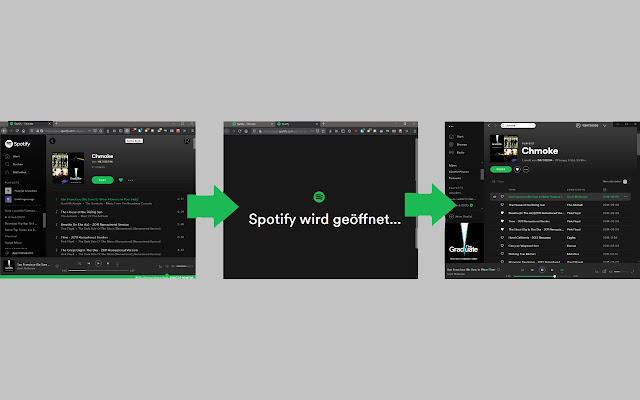 Redirect for Spotify