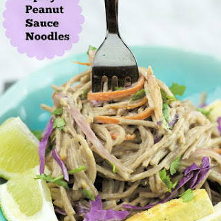 Spicy Peanut Butter Sauce Noodles