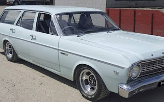 Ford Falcon Stationwag Rent Southland