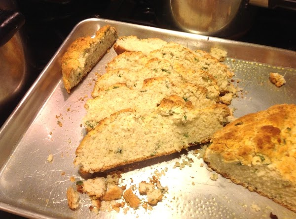 Remove from oven and spray with butter flavored cooking spray or brush top with...