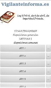 Ley de seguridad privada- screenshot thumbnail