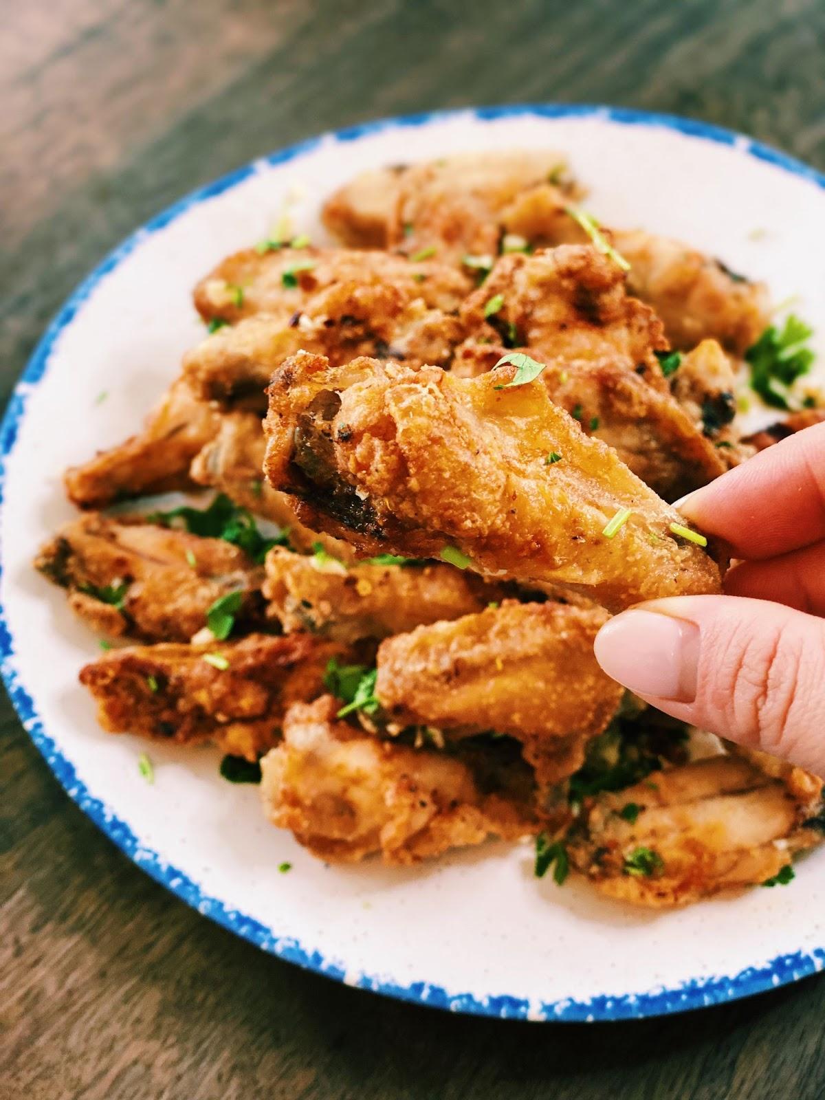 Vietnamese Inspired Chicken Wings (Healthy & CRISPY)