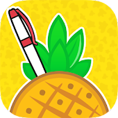 Shoot a Pineapple Apple Pen