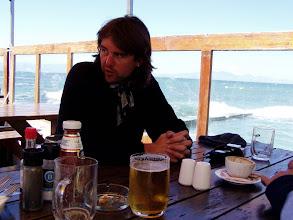 Photo: Restaurant,in the sea......