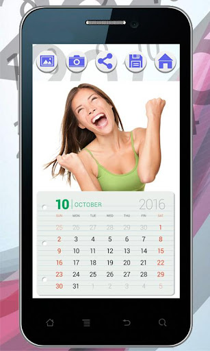 カレンダーフォトフレーム