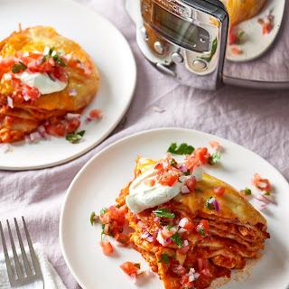 How To Make Slow Cooker Chicken Enchiladas.