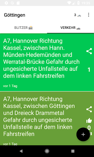 Blitzer im Landkreis 1.2.4 screenshots 2