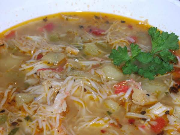 The Soup Nazi's Crab Bisque