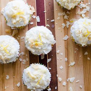 Lemon Lime Coconut Cupcakes (Gluten Free, Sugar Free)