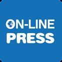 ON-LINE PRESS icon