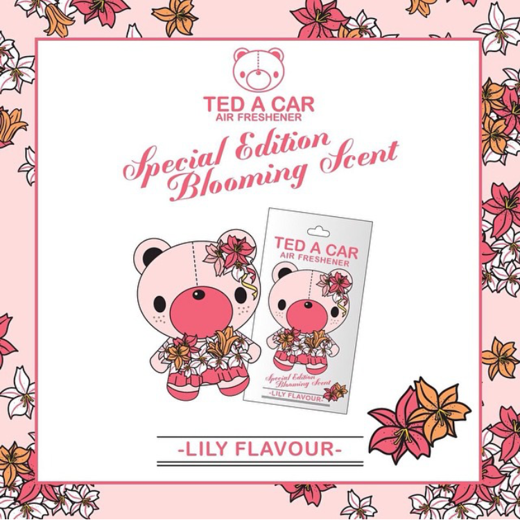 Ted A Car - Lily Flavour by PUFFS TO CUTE