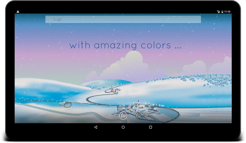 android Winter Live Wallpaper Screenshot 7