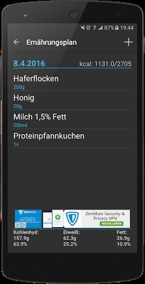 Workout-Manager - screenshot
