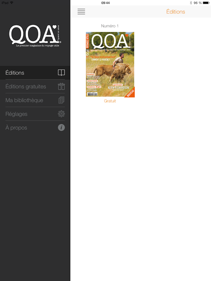 QOA Magazine- screenshot