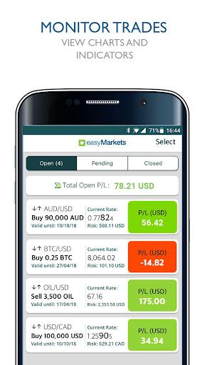 easyMarkets:  Trade Forex, Bitcoin, Oil and Shares 1.20.11 Screenshots 7