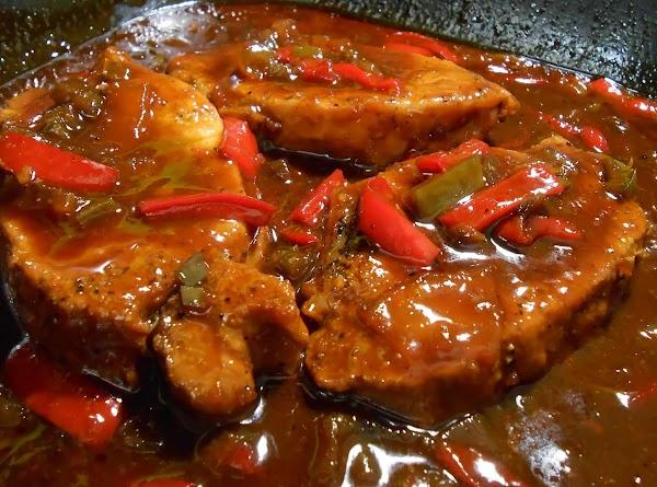 Saucy Chops Recipe