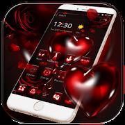 Red Rose Bleeding Heart Theme