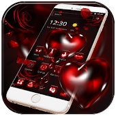 Red Rose Bleeding Heart Theme