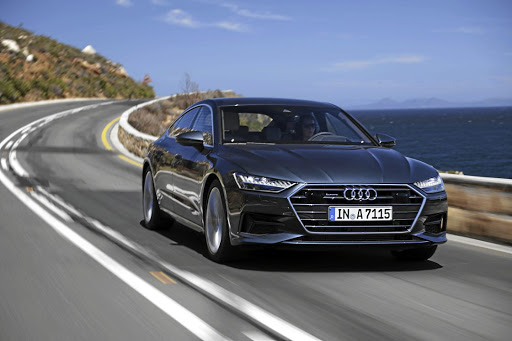 The design gives the A7 a sharper look than before but it dilutes its character compared to the original.   Picture: AUDI