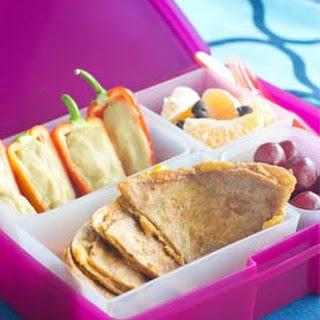Chipotle Ranch Quesadilla & Pepper Boats Bento Box