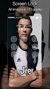 Cristiano Ronaldo Lock Screen Juventus 1.0 Mod Android Updated 1