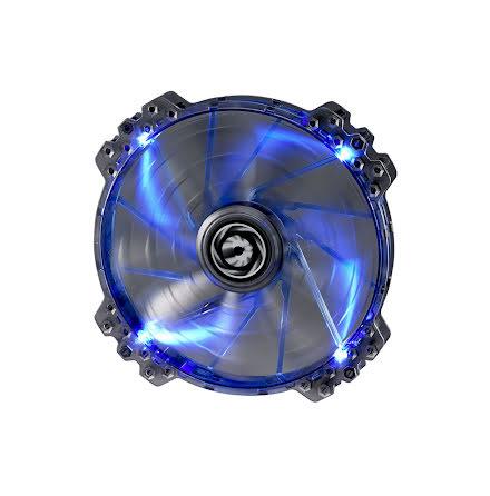 Bitfenix vifte m/blå LED, Spectre PRO, 200x25, sort
