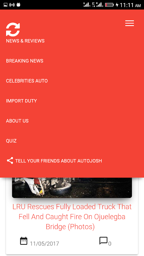 Autojosh- screenshot