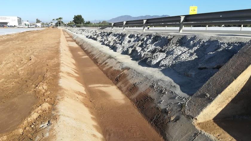 Obras finalizadas carretera Pulpí-San Juan de los Terreros-
