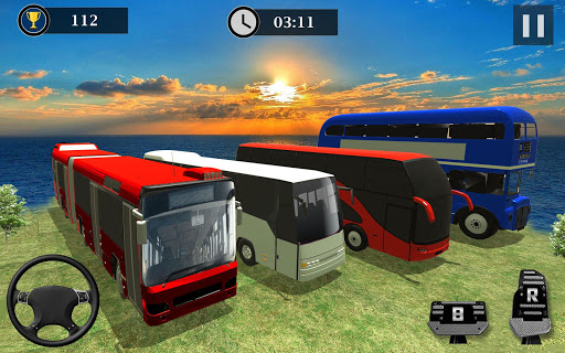 Uphill Off Road Bus Driving Simulator - Bus Games 1.14 screenshots 4