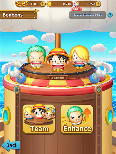 ONE PIECE BON! BON! JOURNEY!! apktram screenshots 2