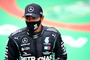 Lewis Hamilton of Great Britain and Mercedes said owning an Extreme E team 'gives me an opportunity to merge my love for motor racing together with my love for the planet'.