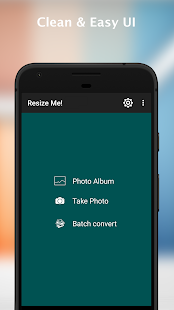 Resize Me! Pro - Photo & Picture resizer Screenshot