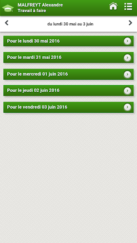 Pronote - Épinay sur Orge Android App Screenshot