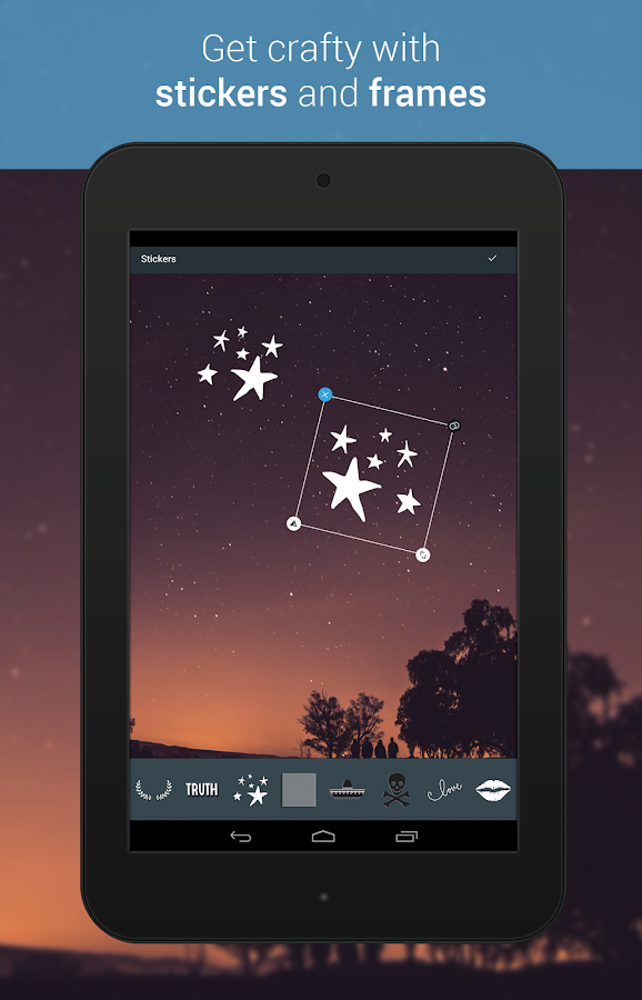 Screenshots of Photo Editor by Aviary for iPhone