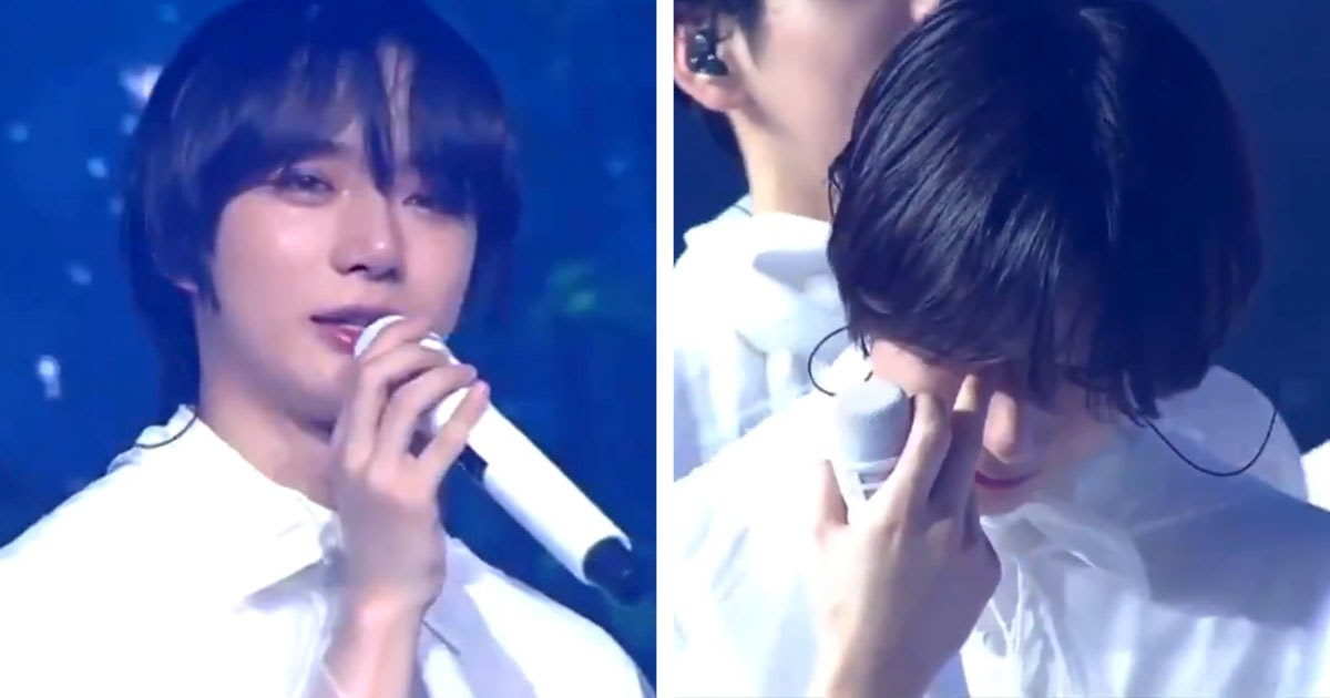 TXT's Beomgyu Breaks Down In Tears At Their Fan Meeting
