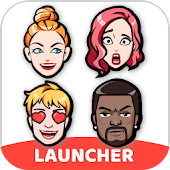 Fun Launcher - Avatar Maker, Themes