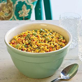 Corn-and-Lima Bean Salad.