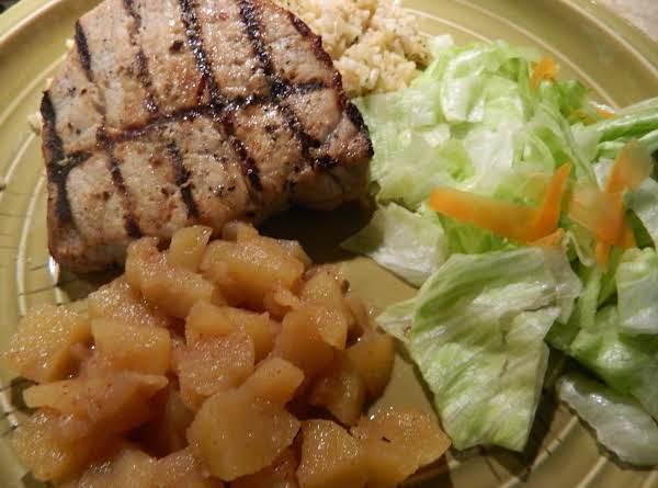 Sea Salt And Citrus Brined Grilled Pork Chops Recipe