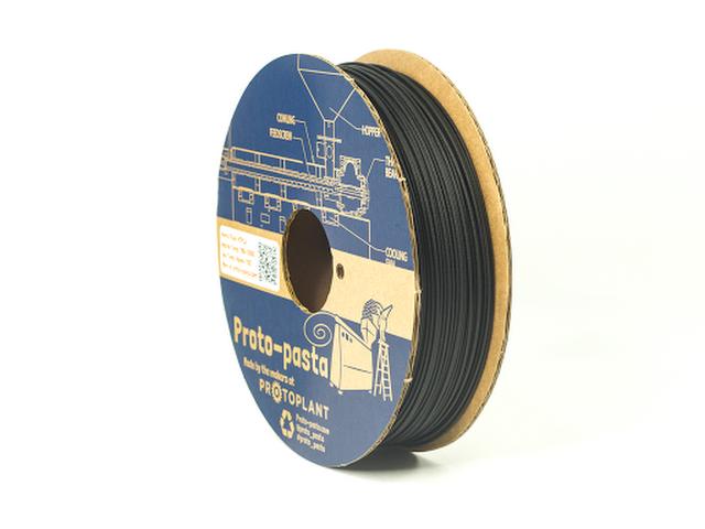 Proto-Pasta Black Matte Fiber HTPLA Filament - 2.85mm (0.5kg)