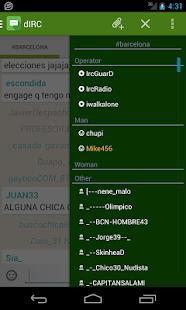 dIRC - screenshot thumbnail