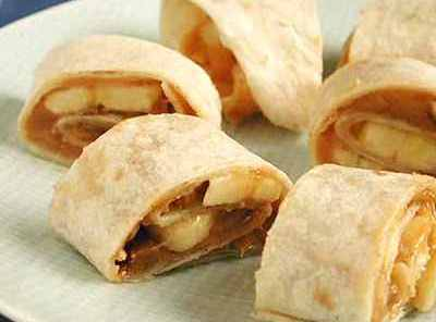 Peanut Butter-banana Spirals Recipe