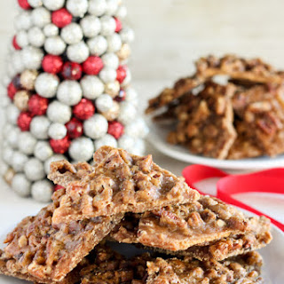 Pecan Praline On Graham Crackers Recipes