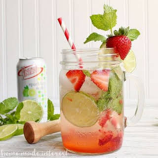 Strawberry Mojito Sparkling Water.